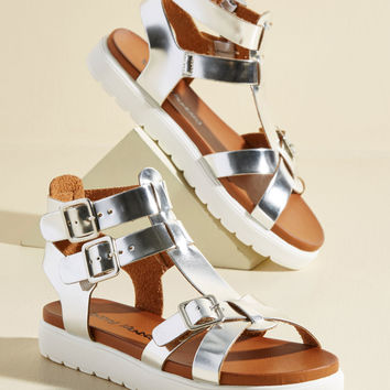 Performance Art Enthusiast Sandal | Mod Retro Vintage Sandals | ModCloth.com