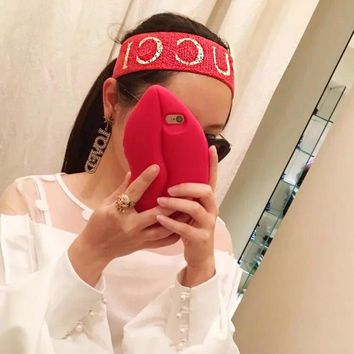 One-nice™ GUCCI Sport Crochet Knit Knitted Headwrap Headband Warmer Head Hair Band I