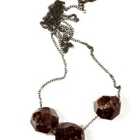 Little Doe Garnet Pendant Necklace