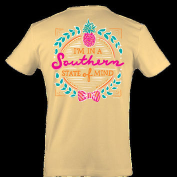 Itsa girl Thing Southern State of Mind Tee Shirt