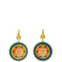 Floral-drop crystal-embellished earrings | Dolce & Gabbana | MATCHESFASHION.COM UK