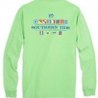 NAUTICAL FLAGS LONG SLEEVE T-SHIRTStyle: 2050T