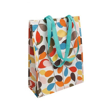 dotcomgiftshop Shopper Bag Vintage Ivy Eco-friendly - it's made from 90% recycled plastic bottles, Dimensions: 34 x 15 x 40 cm
