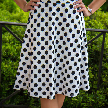 Forget Me Dot Skirt - Final Sale