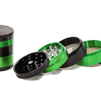 Sharp Stone Green & Black Herb Grinder