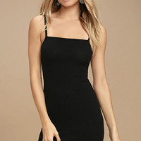 Billabong Dream Song Black Bodycon Dress