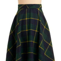 Precisely Plaid-matic Skirt | Mod Retro Vintage Skirts | ModCloth.com