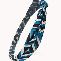 Knotted Geo Headwrap | FOREVER 21 - 1057029156