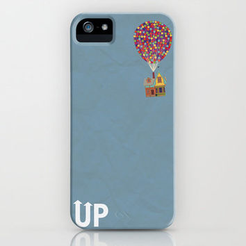 Disney Pixar's Up ~ A Minimalist Poster iPhone Case by Bluebird Design | Society6