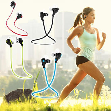 Fashion Wireless Bluetooth Stereo Earphone Earbuds Waterproof Sport Headset + Gift Box