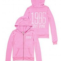 Cozy Zip Hoodie - Victorias Secret PINK - Victoria's Secret