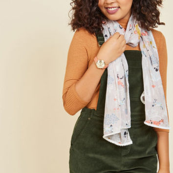 Just A Hare to the Right Scarf | Mod Retro Vintage Hats | ModCloth.com