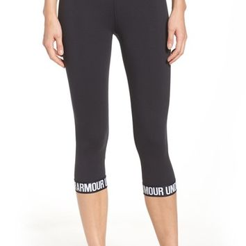 Under Armour Favorite Word Mark Capris | Nordstrom