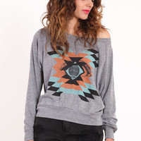 Mayan Vision Printed Pullover - $39.00 : ThreadSence.com, Your Spot For Indie Clothing & Indie Urban Culture