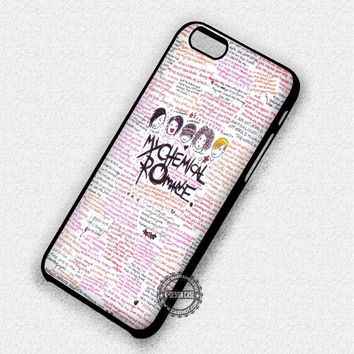 My Chemical Romance - iPhone 6 5s SE Cases & Covers