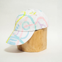 Pastel Galaxy #1 Hand-painted Limited Edition Hat