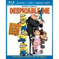 Despicable Me (Limited Time Blu-ray Combo Pack (Blu-ray + DVD + Digital Copy))