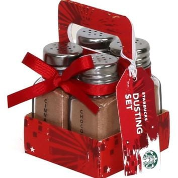 Starbucks Dusting Set