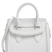 Alexander McQueen 'Small Heroine' Leather Satchel