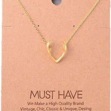 Must Have-Rack Necklace, Gold
