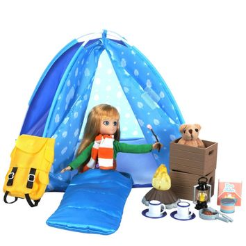 Campfire Fun Playset for Lottie and Finn Dolls