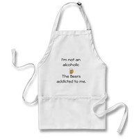 Not An Alcoholic Aprons from Zazzle.com