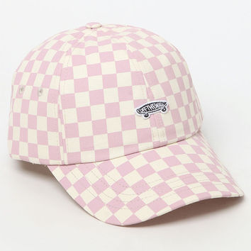 Vans Checkerboard Mauve Strapback Dad Hat at PacSun.com