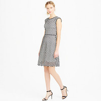 J.Crew Womens Tall Punched-Out Eyelet Dress
