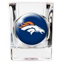Personalized NFL Shot Glass - Broncos