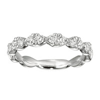 Catherine Diamond Wedding Band Steven Singer Jewelers