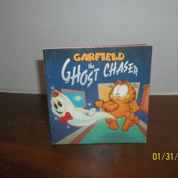 vintage 1994 jim davis garfield the ghost chaser book