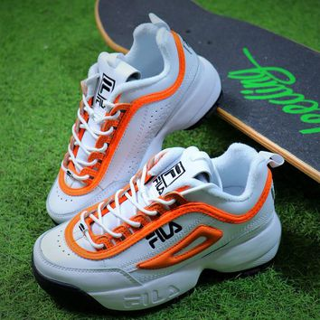 fila disruptor 3 womens orange