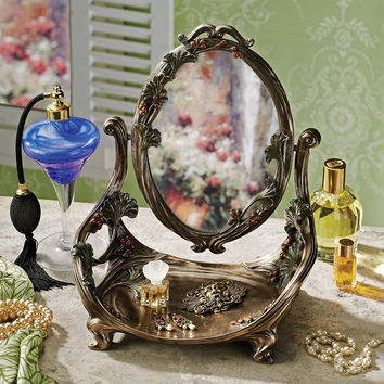 Park Avenue Collection Guimard Art Nouveau Vanity Mirror
