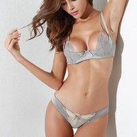 Hot Deal Cute On Sale Sexy Butterfly With Steel Wire Exotic Lingerie [13244530691]