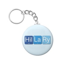 Hillary Clinton for President Keychain