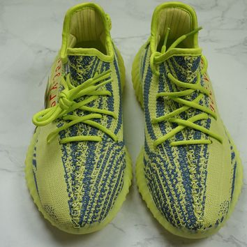 "DEADSTOCK ADIDAS YEEZY BOOST 350 V2 ""FROZEN YELLOW"" SZ 10 -RARE EDITION"