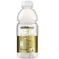 Vitamin Water Zero Squeezed Lemonade 20 oz Bottles - Case of 24