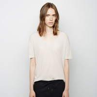 Pima Cotton Tee by T by Alexander Wang