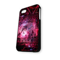 Aztec Nebula pattern iPhone 4/4S Case