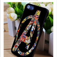 Avenger art iPhone for 4 5 5c 6 Plus Case, Samsung Galaxy for S3 S4 S5 Note 3 4 Case, iPod for 4 5 Case, HtC One for M7 M8 and Nexus Case