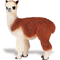Farm Adult Alpaca Figurine