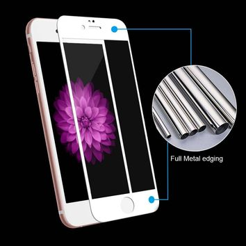 Full Cover Tempered Glass For iPhone 6, 6s, 7- Plus Screen Protector