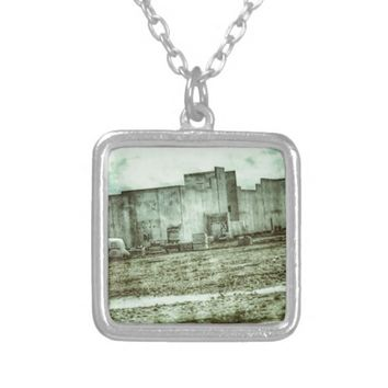 Silent Prison Silver Plated Necklace