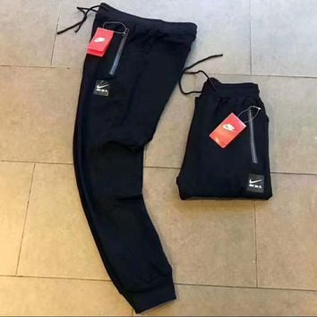 One-nice™ NIKE just do it black long pants Trousers Sweatpants H-A-GHSY-1