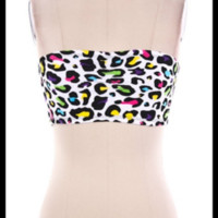 Leopard Bandeau -- Multi Color