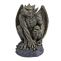 SheilaShrubs.com: Silas the Gargoyl Sentry Statue - Medium CL5199 by Design Toscano: Garden Sculptures & Statues
