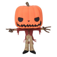 Funko The Nightmare Before Christmas Pop! Pumpkin King Glow-In-The-Dark Vinyl Figure Hot Topic Exclusive