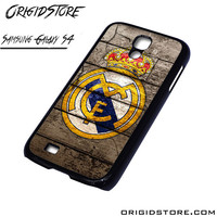 Real Madrid Wooden Case For Samsung Galaxy S4 Case
