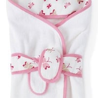 Infant aden + anais Cotton Hooded Bath Towel