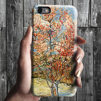 Rose Tree - Van Gogh iPhone Case 6, 6S, 6 Plus, 4S, 5S. Mobile Phone. Art Painting. Gift Idea. Anniversary. Gift for him and her